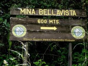 Los propietarios de la Mina Bellavista podrían abrir sus puertas a partir de diciembre de 2012. CRH
