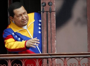 El presidente de Venezuela, Hugo Chávez, de 57 años y aspirante a una tercera reelección presidencial en las elecciones del próximo 7 de octubre, regresó de La Habana el pasado 16 de marzo. EFE/Archivo