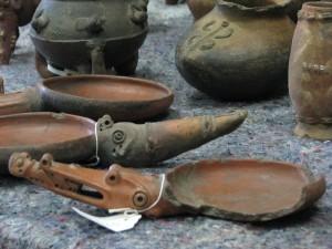 Piezas indígenas colección repatriada de  Brooklyn. CRH