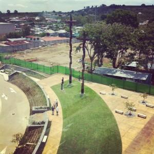 Costa Rica inauguró la escultura más alta del país. CRH