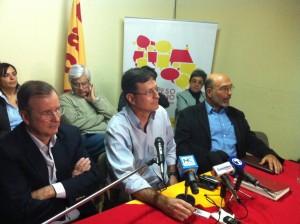 El líder y fundador de Acción Ciudadana, Ottón Solís, no ve ninguna crisis ni ningún proceso anormal en el partido. Archivo CRH