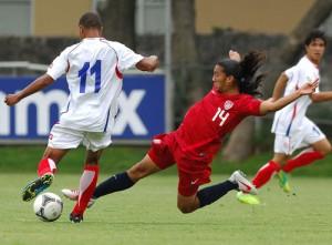 Costa Rica vuelve a caer en la Copa México. Foto:Femexfut