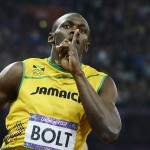 Bolt culmina el doble triple con récord mundial en 4x100. EFE