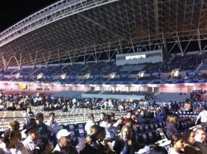 A esta hora, unas 8 mil personas se encuentran en las graderías este y oeste de la Joya de la Sabana.