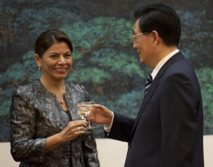 El hospital móvil es parte de las donaciones de China. CRH