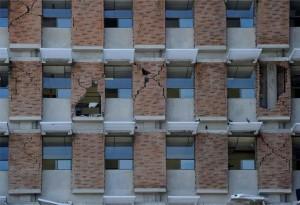 Pisos 6 y 7 del Hospital de Puntarenas con principal problema estructural