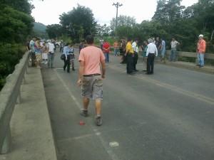 Imagen del puente hacia Palmares. CRH