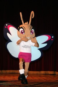 La mariposa Morfo es la mascota del Mundial Femenino Sub 17