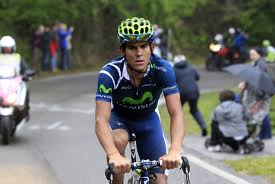 Andrey Amador le sigue la rueda al líder en el  Tour de Down Under