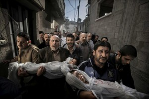 Imagen del fotógrafo Paul Hansen ganadora del premio World Press Photo of the Year 2012 de la 56ª edición del concurso World Press Photo, según anunció la organización hoy, viernes 15 de febrero en Amsterdam (Holanda). EFE/Paul Hansen-Dagens Nyheter