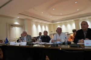 Reunión Cancilleres de Centroamérica para definir cambios al SICA. Foto cortesía de la Cancillería de Costa Rica. CRH
