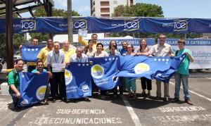 Empresas y comunidades recibieron el premio de Bandera Azul Ecológica.
