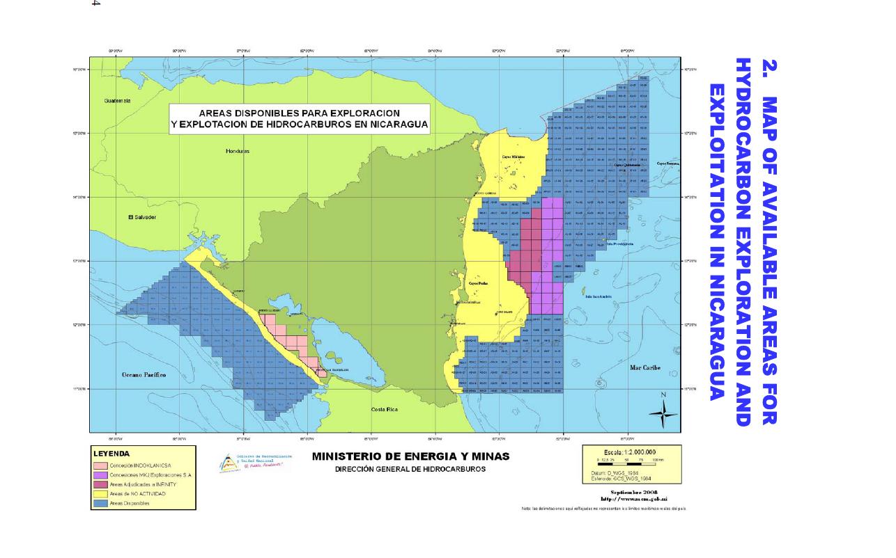 Costa Rica Nicaragua Map