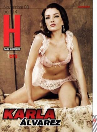 En el 2008, la actriz posó para la revista para caballeros H.