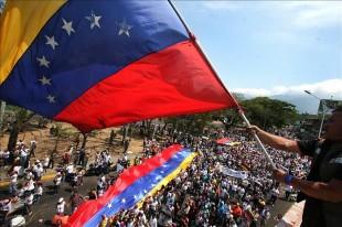 Marchas y concentraciones en Venezuela. EFE.