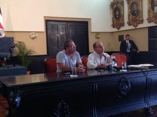 Hoy en conferencia de prensa representantes de las Asadas manifestaron su malestar, CRH.