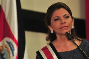 Laura Chinchilla resaltó esfuerzos en seguridad. (Herbert Arley para CRH)
