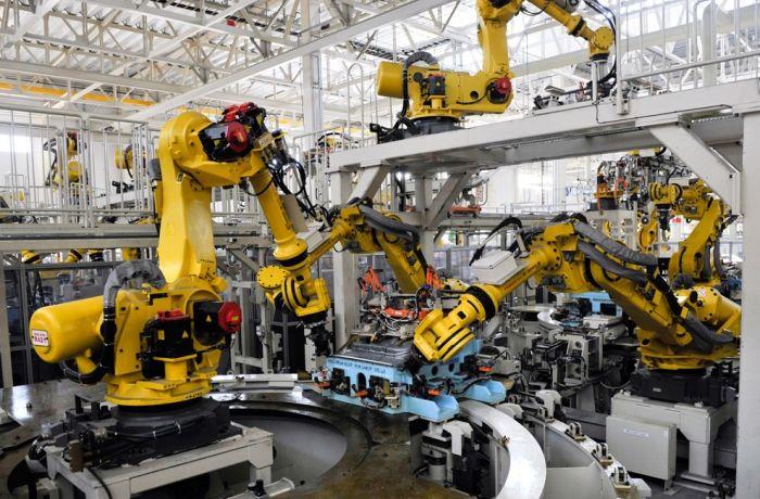 Robotica industrial empresas