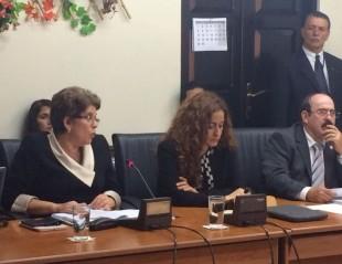 El 9 de julio, la contralora Marta Acosta compareció en la Comisión de Ingreso y Gasto. (Archivo CRH)