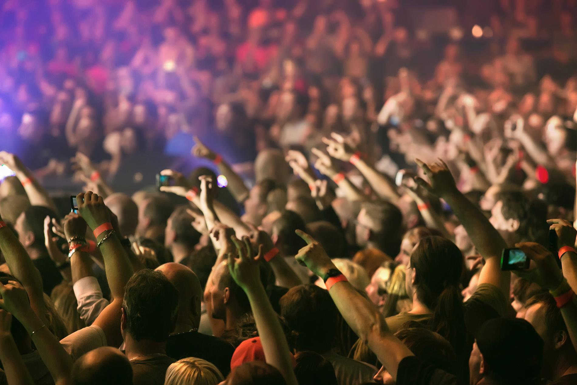 concierto, musica, gente, musical