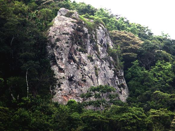 La famosa piedra de Aserrí