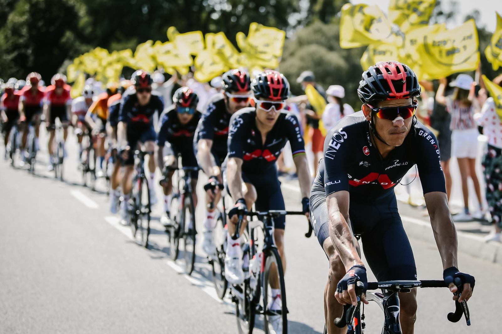Etapa reina del Tour fue una pesadilla para el INEOS de Andrey Amador