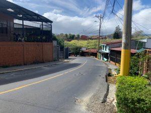 Calle que comunica Heredia con Lagunilla tendra cierres parciales  